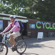 The outside of Cyclexperience Brockenhurst